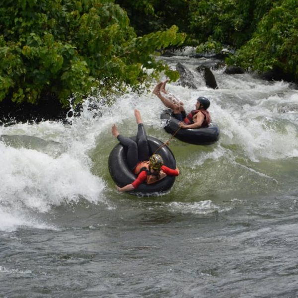 extreme tubing on the river nile